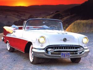 Oldsmobile Super 88 Convertible 1955 года
